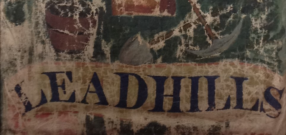 Detail from Leadhills banner