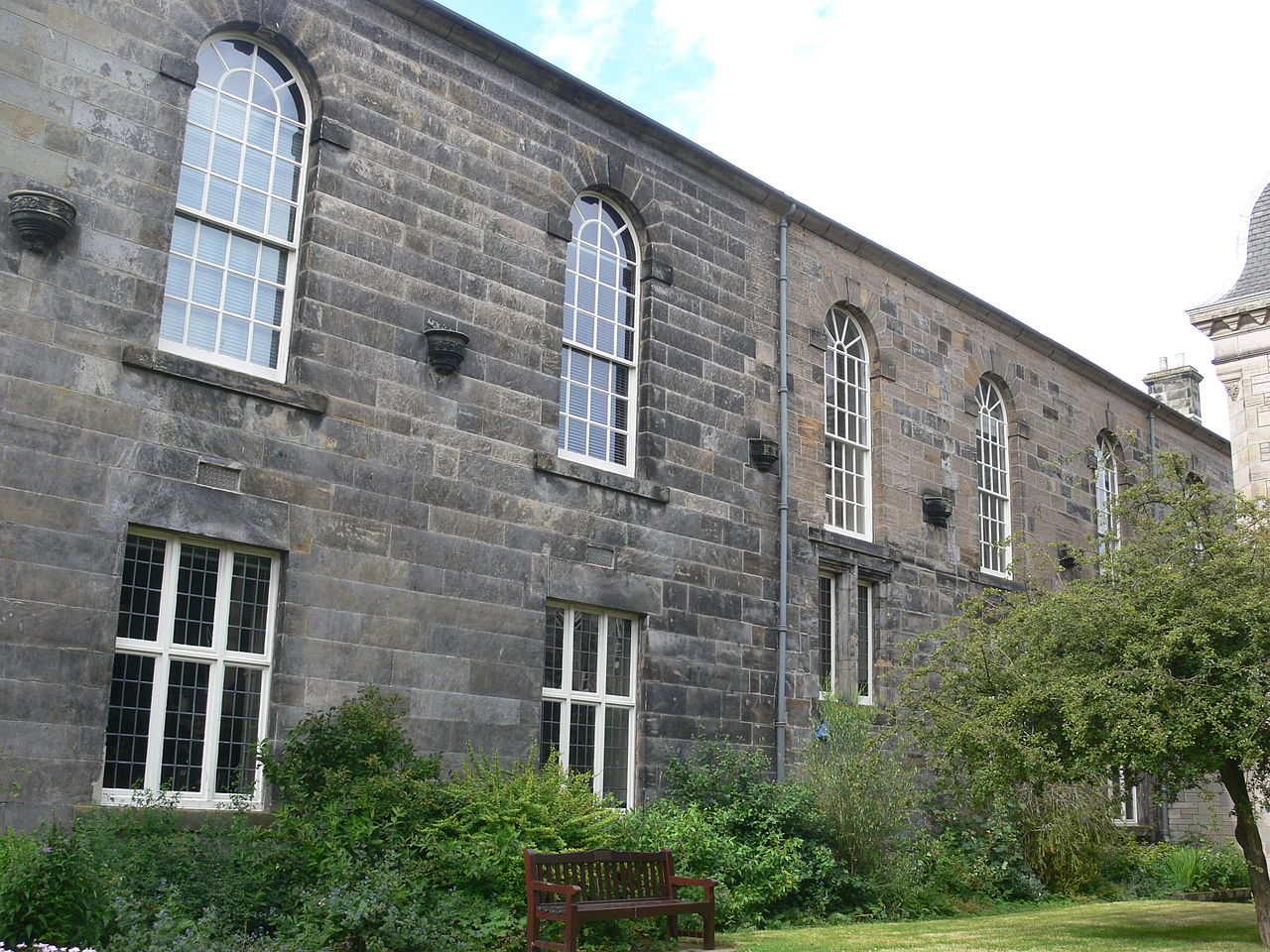 An Institutional Library: King James Library, University of St Andrews, founded in 1612.