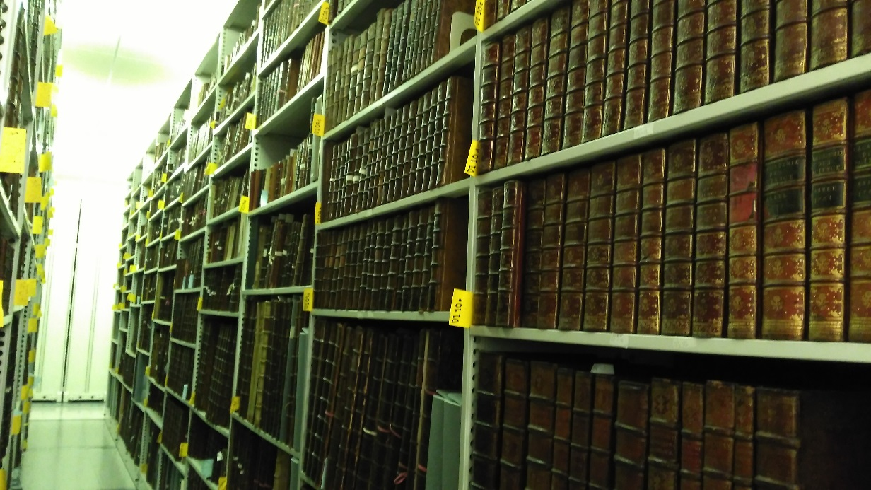 Behind the scenes: Hunterian Collection books, 2017