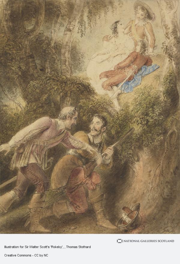 Stothard, illustration for Scott's Rokeby