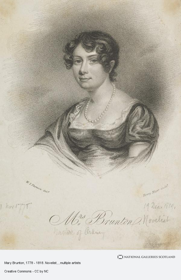 portrait of novelist Mary Brunton