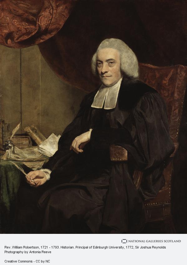portrait of Principal William Robertson of the University of Edinburgh