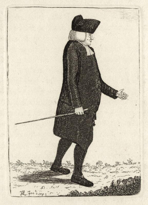 etching by John Kay depicing William Robertson